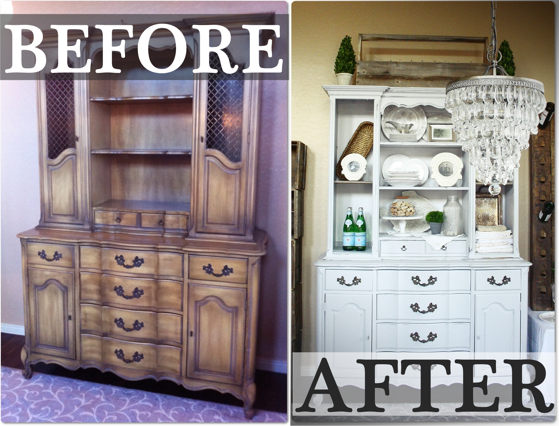 China Cabinet: Before & After